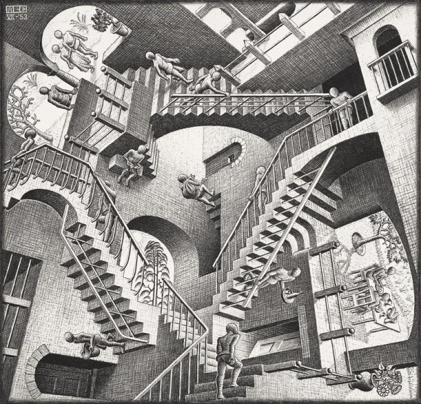 Escher__Relativity