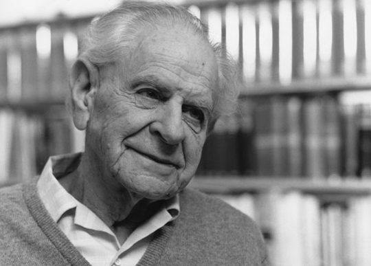 карл поппер автор теории